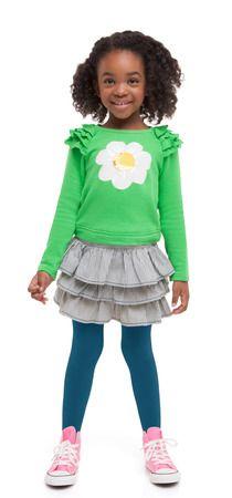 Railroad daisy outfit #SpringBreakSafari  @FabKids