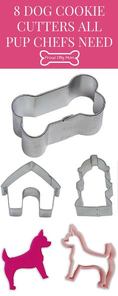 8 Dog Cookie Cutters All Pup Chefs Need | DIY Dog Treats | Homemade Dog Treats | Gifts For Dog Lovers |