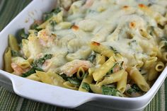 Shrimp Penne Casserole Recipe (by the Blog Chef).. he always has such fantastic recipes!