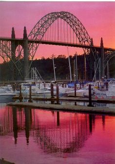 Yaquina Bay Bridge, Newport, Oregon. Probably my favorite city on the Oregon Coast.