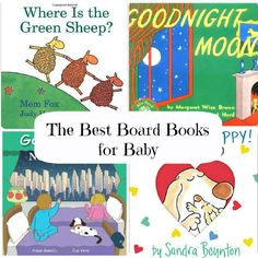 Perfect stocking stuffer! The Best Board Books for Baby