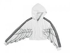 again the wings