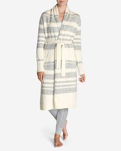 Women's Long Sleep Cardigan - Stripe   Eddie Bauer Use Code PRESENT for 40% off. Size M/L