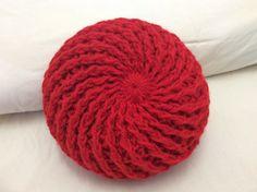 Móc mũ len đẹp phần 1 vòng 1_3 How to crochet a beret  hat part 1 round ...