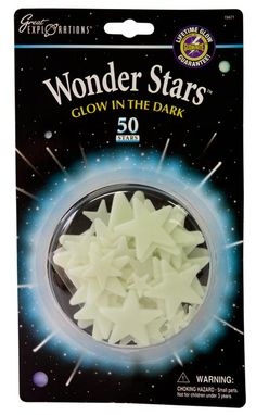 Wonders Glow in the Dark Stars 50pc