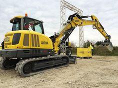 ET90 er en af fire nye gravemaskiner fra Wacker Neuson. Foto: Kim Ebbesen.