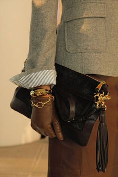 fashion, bracelets, equestrian chic, gloves, accessories, leather, banana republic, black, bags
