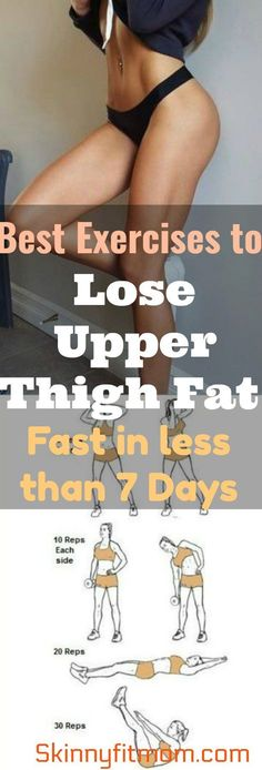 10 Proven Exercises to Lose Upper Thigh Fat in Less Than 7 Days