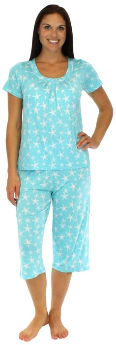 XL-BNWT M/&S LOUNGEWEAR SHORT SLEEVE /& SHORTS IN BLUE WITH TROPICAL PRINT COTTON