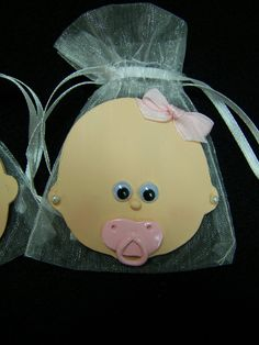 Baby Girl baby shower party favor bags 10 by FavorsByGirlybows, $16.50
