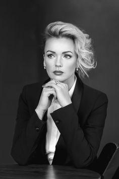 bw portrait by Ekaterina  Dolganova on 500px