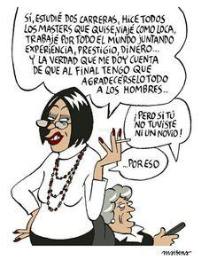 Maitena Spanish Humor, Humor Grafico, Wtf Funny, Piece Of Me, Jokes, Lol, Smile, Thoughts, Comics