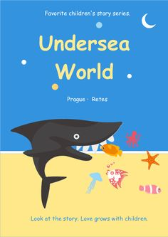 31 best book cover images on pinterest in 2018 just use this seaworld children book cover template to tell wonderful and imaginative stories to your kids maxwellsz