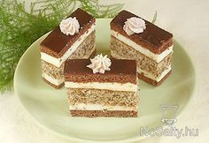Hungarian Cake, Hungarian Recipes, Cookie Recipes, Dessert Recipes, Eat Pray Love, Cake Bars, Sweet And Salty, Diy Food, Vanilla Cake