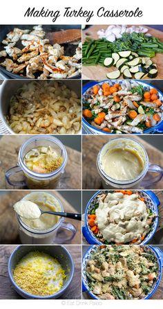 Creamy Turkey Broccoli Casserole (Divan Style) | http://eatdrinkpaleo.com.au/paleo-turkey-divan-casserole-recipe/