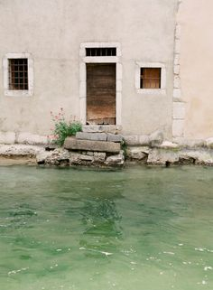 Waterfront Steps in Annecy France   photography by http://emthegem.com