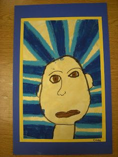 WHAT'S HAPPENING IN THE ART ROOM??: 1st Grade Egyptian Masks