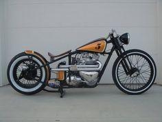 Triumph 650cc Bobber Motorcycle - '5'