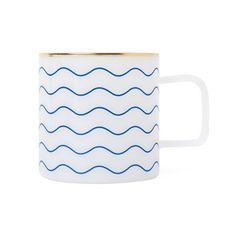 ECO MILK GLASS MUG (L) - wave
