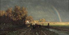 Willem Roelofs - De regenboog (1875)