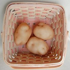 pantyhose potatoes - play food pretend food. My granny had some of these at her house when I was a kid!