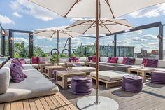 Soho House Berlin, Bar Berlin, Berlin Hotel, Restaurant Am Wasser, Motel One, Rooftop Terrace, Rooftop Lounge, Hotels, Brick Building