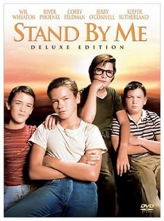 Stand by Me (1986) - based on a novel by Stephen King starring Wil Wheaton, River Phoenix, Jerry O'Connell, Corey Feldman, John Cusack, and Kieffer Sutherland #movie