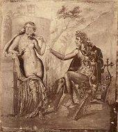 Pompéi, VII, Maison du Vicolo del Balcone Pensile, Apollon et Daphné
