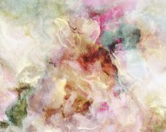Abstract Flower Art Painting - Cianelli
