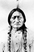 """During that ceremony he had a vision. He saw American soldiers falling on the ground like """"grasshoppers falling from the sky."""" When others became aware of Tatanka-Iyotanka's vision, they followed him to the land of Little Big Horn. Soon after, General George Armstrong Custer's Seventh Calvary showed up to fight, which fulfilled Tatanka-Iyotanka's vision. Hopefully everyone knows the story of Little Big Horn. If not, you can read some information about it HERE."""