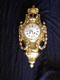#Cartel #LouisXVI #style in gilt #bronze, #19thcentury. For sale on #Proantic by Antiquités Rouyer Michel.
