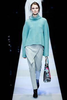 La falda pantalón de Giorgio Armani #MFW