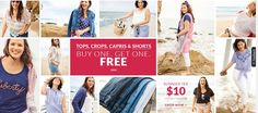 Lane Bryant Coupons April 2020 - Promo Codes and Discount Offers Store Coupons, Online Coupons, Lane Bryant, Shop Now, Tees, Shopping, T Shirts, Teas, Shirts