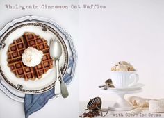 FoodTalk | Wholegrain Cinnamon Oat Waffles with Clove Ice Cream… get spicy these monsoons!
