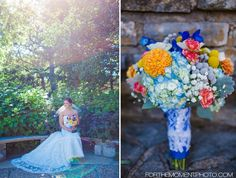 Colorful Summer Bee Tree Park Wedding by saint Louis Wedding Photographers, For The Moment Photography