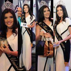 Daniela Cepeda Miss Ecuador 2017 en la entrega de premios.