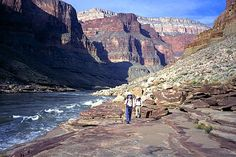 See the Grand Canyon and hike all up in it