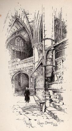 Herbert Railton Queen Eleanor's Tomb A Brief Account of Westminster Abbey 1894
