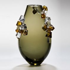 'Cristalline' With infinite fascination for her chosen medium glass, Enemark's…