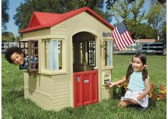 Little Tikes playhouse play house cottage roleplay dramatic play outdoor toys early childhood fade resistant colourful plastic