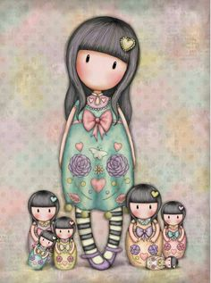 gorjuss tune to fly ile ilgili görsel sonucu Little Doll, Little Girls, Print Pictures, Cute Pictures, Illustrations, Illustration Art, Santoro London, Cute Girl Drawing, Ideias Diy