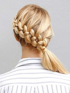 Aah, the ponytail. Simple, sweet, and easy to accomplish—it's a classic for a reason. But sometimes a basic ponytail can look a little blah. Dress it up with fun braids, twists, and accents. We partnered with our friends at More.com to bring you easy-to-follow tutorials and advice.