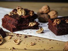 DIY-Anleitung: Lebkuchen-Brownies mit Walnüssen backen via DaWanda.com