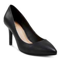 Women's Alexis Wide Width Pointed Toe Pumps with 3.75 Heels - Black 7.5, Size: 7.5W