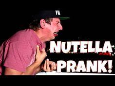 Nutella Challenge Prank on Vitaly!