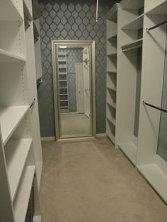 New South Design: Master Closet Makeover - Step 3: Design & Install!