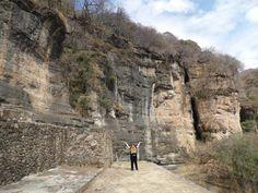 Zona Arqueológica de Malinalco en Malinalco, México