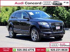 2013 Audi Q7 3.0T Premium Plus Nav Warm & Cold Weather PKG 30k miles $42,972 30003 miles 925-392-4776 Transmission: Automatic  #Audi #Q7 #used #cars #AudiofConcord #Concord #CA #tapcars
