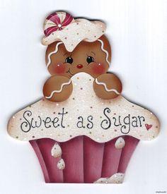 HP GINGERBREAD Sweet as Sugar FRIDGE MAGNET ebay  stonehouse28