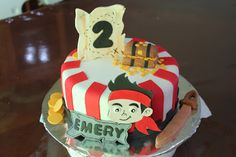 jake and the neverland pirates cakes - Google Search